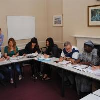 Classroom in CES Dublin 1