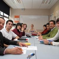Classroom in CES Dublin 2