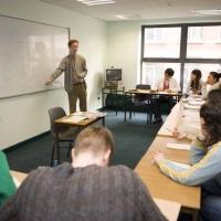 Classroom in CES Dublin 4