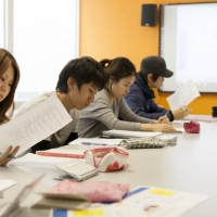 EC - Students studying