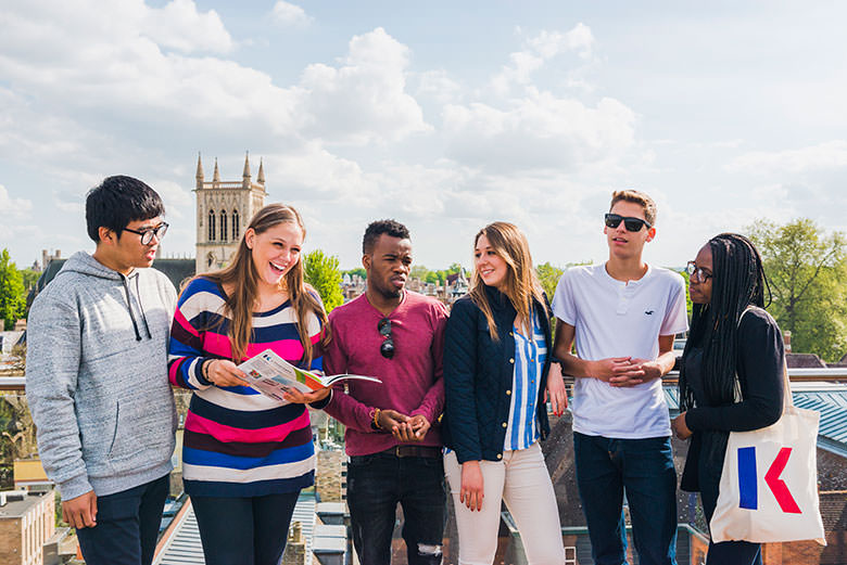 Students at Cambridge