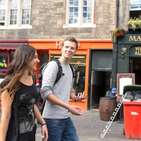 Students out and about